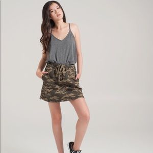 🟢3/$25🟢 NWT: Kersh camouflage skirt size small